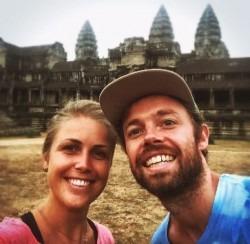 Rolf & Melanie Happy with Yoga