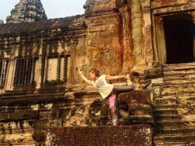 Yoga Heupopeners natarajasana