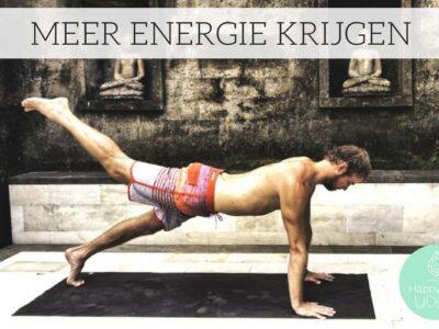 meer energie krijgen