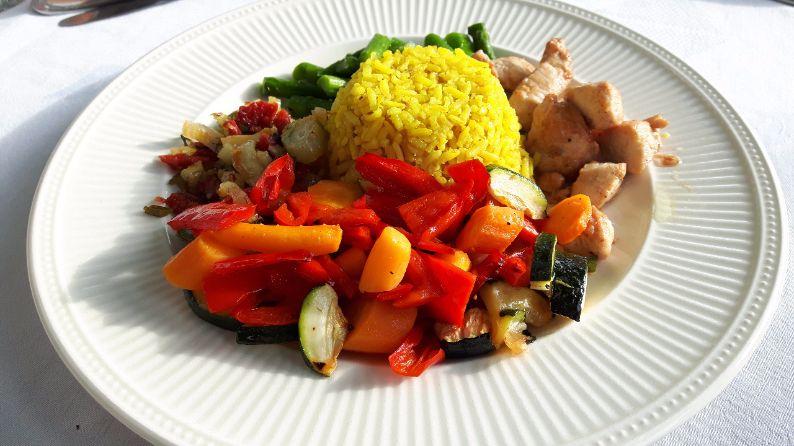 rijst met kurkuma