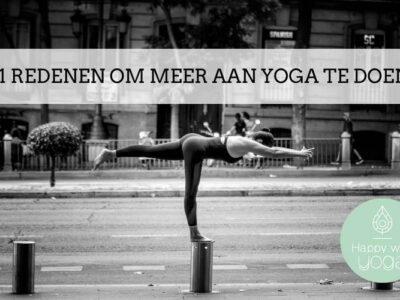 meer aan yoga te doen