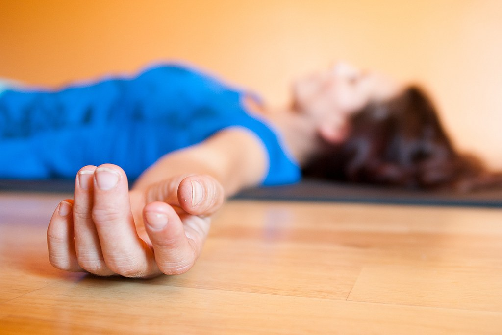 rustgevende yoga oefeningen
